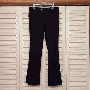 MOSCHINO JEANS BLACK DRESS PANTS - SIZE 8 - NUC